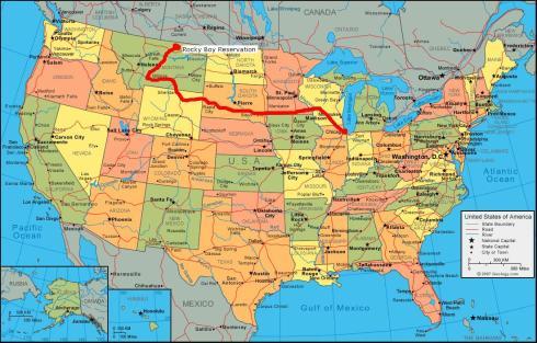 Amerika_Karte